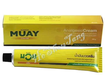 Thai Land MUAY Analgesic Cream (Boxing Analgesic Cream) 100g