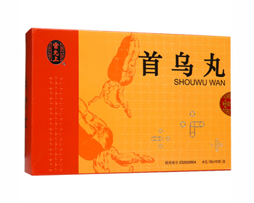 Shou Wu Wan-For Gray Hair (Liver&Kidney Deficiency)