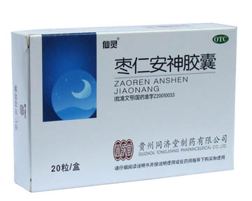 Zao Ren An Shen Jiao Nang-For Heart Deficiency