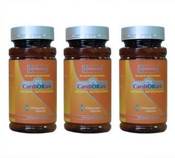 CardiOKare-Best Natural Product for Hypertension(2 Month Supply)