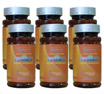 CardiOKare-Best Natural Product for Hypertension(4 Month Supply)