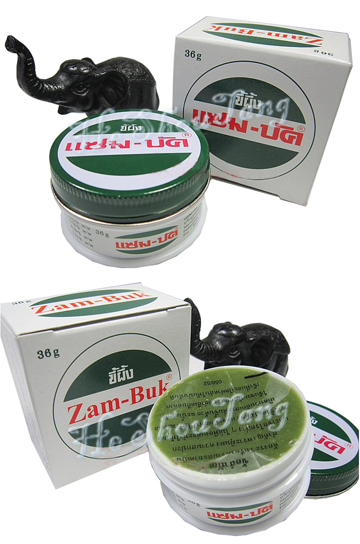 Brand New Unused Zambuk Medicated Ointment 100% Authentic  [Product details] 36g per tin of Zam-Buk medicated ointment [Ingredients] Eucalyptus oil BP, camphor BP, thyme oil BPC, colophony BP Eucalyptus Oil 5.02 % w/w Camphor / Menthol 1.76 % w/w Oil of Thyme 0.50 % w/w Colophony 2.51 % w/w [Functions] Zam-Buk is a traditional topical ointment that provides fast, effective and soothing relief for: o aching feet o bruises o burns o cuts o chilblains o itching and rashes o mosquito and insect bites o scalds o sores* Made in Thailand [Usage] External use Directions of Use: * Minor Cuts and Graze - Gently bathe, apply Zambuk lightly. Use a dressing.. * Chapped hands, chilblains - Rub in gently to affected areas.. * Sores, Aching feet - Bathe feet in warm water then gently rub in Zambuk. * Discontinue use and consult doctor if excessive irritation or inflammation develops. People with delicate skin may be hypersensitive to the ingredients.